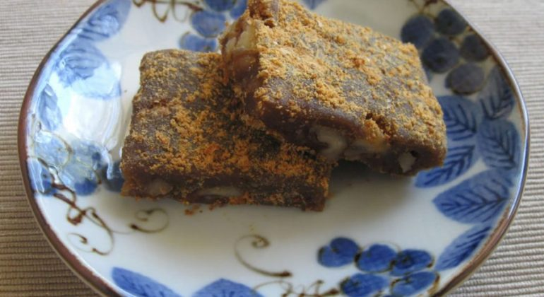 Muscovado & Walnut Mochi