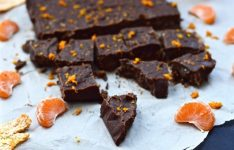 Paleo Dark Chocolate Orange Fudge