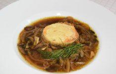 Portobello Mushroom Soup