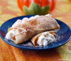 Pumpkin Pie Crêpes