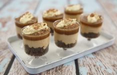 Salted Caramel Cheesecake – No Bake