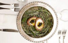 Scotch Eggs with Lamb Sausage and Caviar
