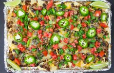 Sheet Pan Beef Nachos