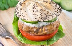 Spiced Lamb Burgers with Cucumber & Mint Raita