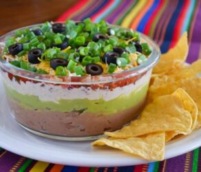 Spicy Seven Layer Dip