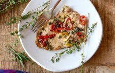 Veal with Fresh Herbs & Lemon