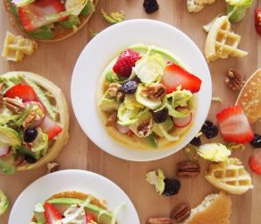 Waffle and Pancake Avocado Toast