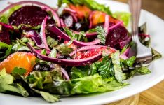 Warm Beet, Orange & Black Olive Salad Recipe