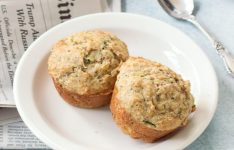 Whole Wheat Brown Butter Zucchini Muffins