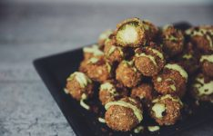 Cheesy Brussels Sprout Tots