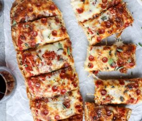 Ciabatta Pizza Bread
