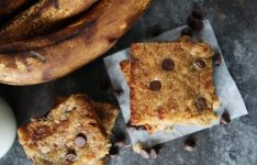 Brown Butter Banana Chocolate Chip Bars