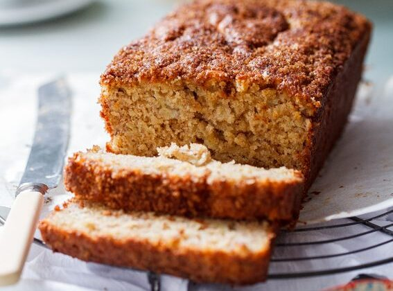 Brown Sugar Cinnamon Banana Bread