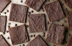 Healthy Fudgy Dark Chocolate Orange Brownies