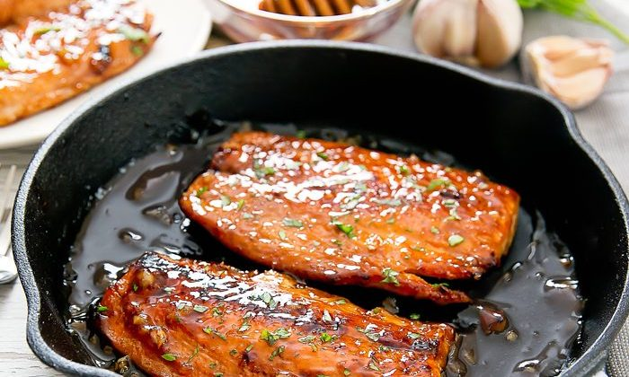 Honey Garlic Salmon