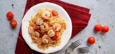 Prawn Linguine Pasta