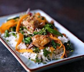 Easy Tuna Stir-Fry Bowls