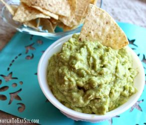 Haley's Garlic & Lime Guacamole