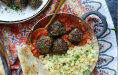 North African Spiced Lamb Meatballs