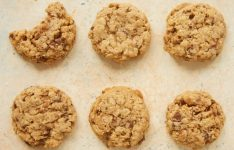 Peanut Butter Toffee Oatmeal Cookies