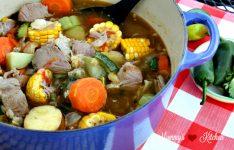Pork Caldo – Pork & Vegetable Soup