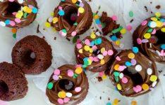 Quick Nutella Funfetti Donut Cookies