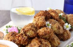 Baked Parmesan Crusted Cauliflower Bites