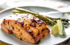 Broiled Salmon With Chili-Lime Mayonnaise