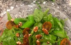Caramelized Kumquat and Arugula Salad