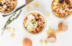 Cheesy Baked Egg Cups