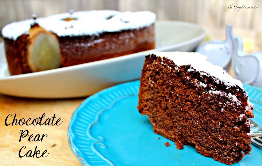 Chocolate Pear Cake | Salt and Sugar