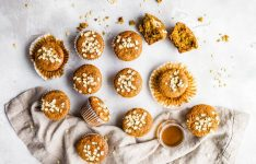 Flourless Honey Oat Ricotta Muffins