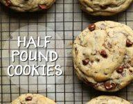 Half Pound Chocolate Chip Cookies