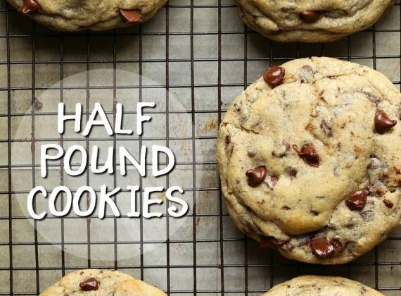 Half Pound Chocolate Chip Cookies