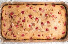 Healthy Strawberry Pecan Banana Bread