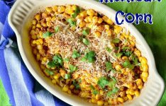 Mexican Corn with Lemon and Chile