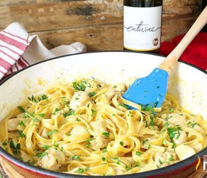 One-Pot Chicken Alfredo