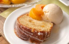 Southern Peach Pound Cake