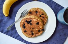Teff Blueberry Pancakes