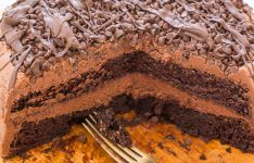 The Best Triple Chocolate Layer Cake