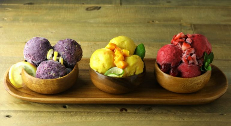 3 ingredient healthy ice creams!