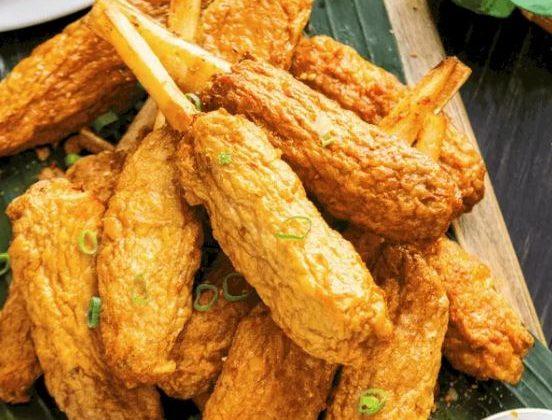 Chao Tom (Sugar Cane Shrimp)