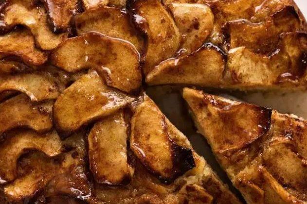 Cinnamon Apple Teacake