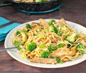 Easy Thai Pork and Noodles Recipe