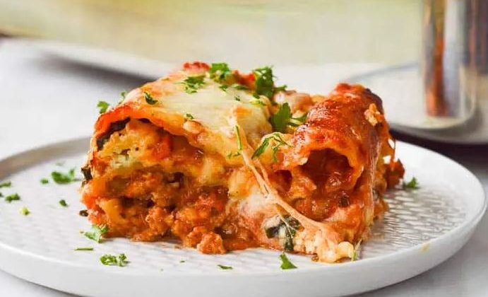 Ground Chicken Lasagna