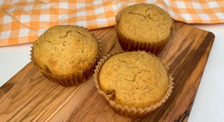 Whole Grain Honey Muffins